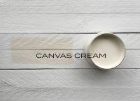 made by paint mineral paint canvas cream