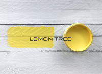 made by paint mineral paint lemon tree
